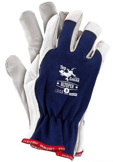 Rękawice ze skóry koziej licowej rltoper/royal 7