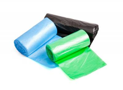 Worki na śmieci 120l 70*110 a10 zielone