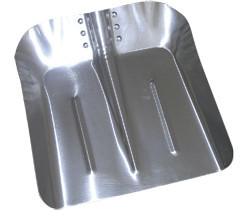 łopata aluminiowa duża oprawna trzonek y , t