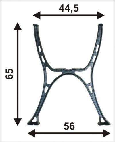 Noga do stolika ''miejska''