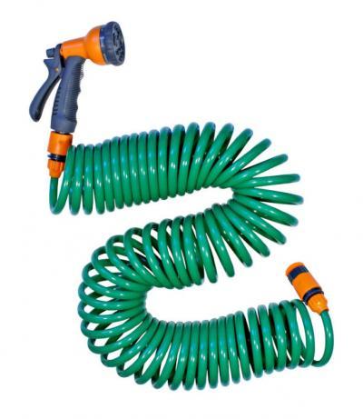 Wąż spiralny 15m złączka + pistolet