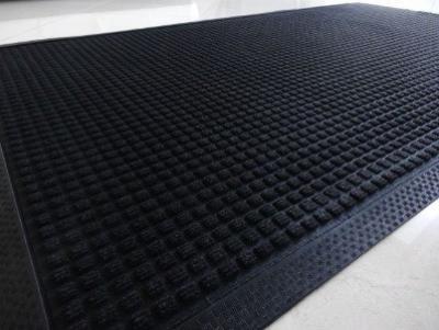 Mata fpr carpet polypropylen na gumie 120x180cm czarna