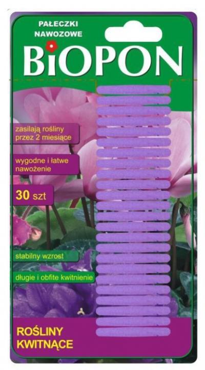 Nawóz pałeczki nawozowe do roślin kwitnących 30 szt.
