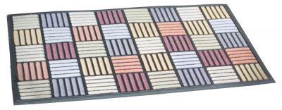 Wycieraczka scrape mat parkiet grey 45-75