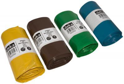 Worek recykling niebieski 120l a10