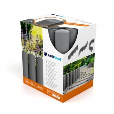 Palisada ogrodowa standard14,5cm*2,3mb ceglasta