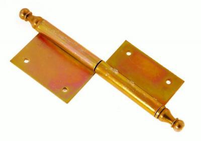 Zawias drzwiowy ocynkowany ozdobny 120mm