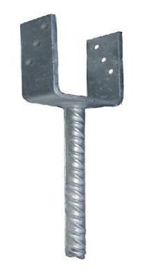 Podstawa słupa na pręt 80*60mm