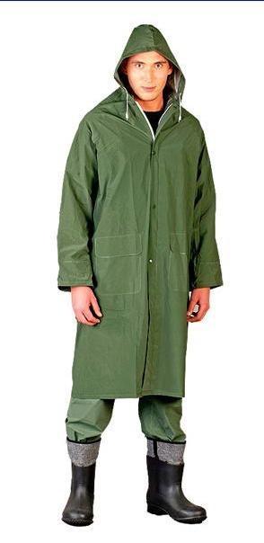 Płaszcz przeciwdeszczowy zielony ppdz rozmiar l