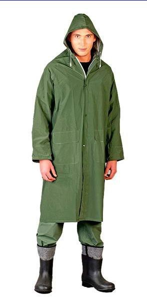 Płaszcz przeciwdeszczowy zielony ppdz rozmiar xxxl