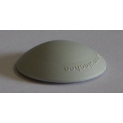 Odbojnik drzwiowy plastikowy fi 50mm , h 12mm biały