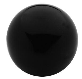 Uchwyt bakelitowy ''kula'' czarny m10*40mm din319c