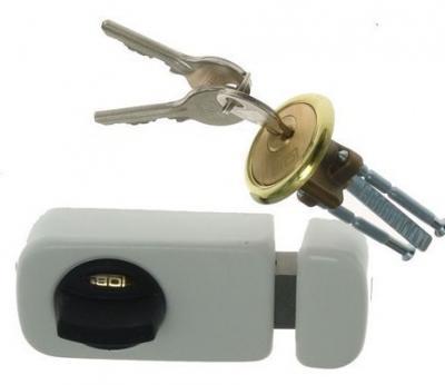 Zamek nawierzchniowy 3 klucze tb61 60mm biały