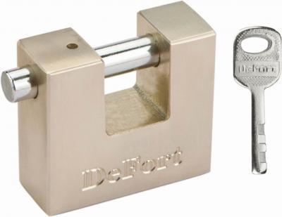 Kłódka trzpieniowa 3 klucze 50mm
