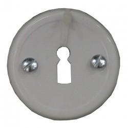 Szyld drzwi malowany klucz biały