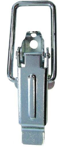 Zamknięcie do skrzyń ocynkowane z hakiem typu c 55*13mm