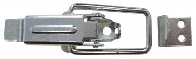 Zamknięcie do skrzyń ocynkowane z hakiem typu c 82*18mm