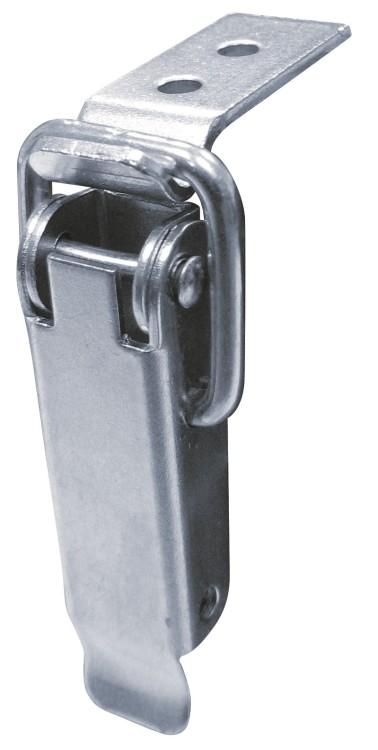 Zamknięcie do skrzyń ocynkowane z hakiem typu d 75*18mm
