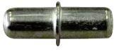 Kołeczki do półek niklowane 6mm dwustronne