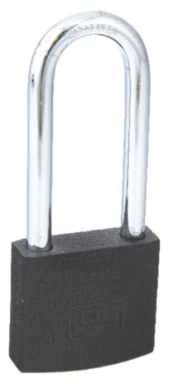 Kłódka zatrzaskowa bębenkowa żeliwna kss41