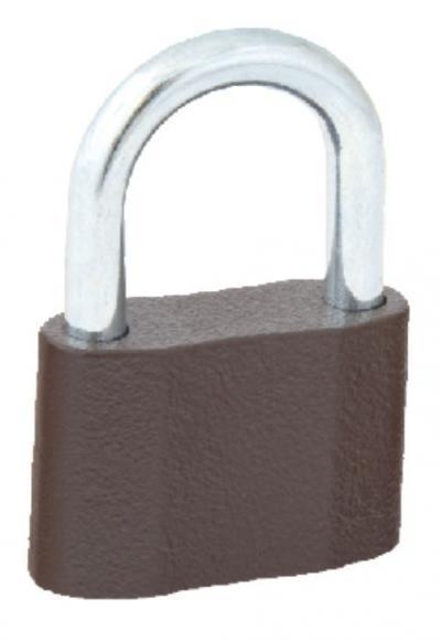 Kłódka żeliwna, zasuwkowa ks40 3 klucze