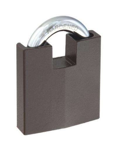 Kłódka zasuwkowa granit-2 z atestem, antywłamaniowa 4 klucze