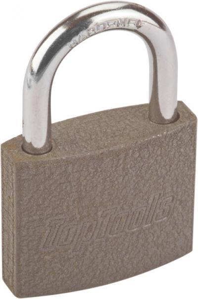 Kłódka żeliwna 75mm 2 klucze