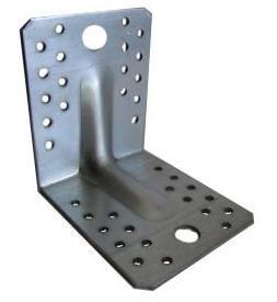 łącznik budowlany z przetłoczeniem 105*105*90*2.5mm