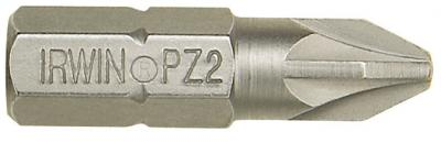 Grot typu pozidriv 1/4'' 25mm 10 szt. pz2