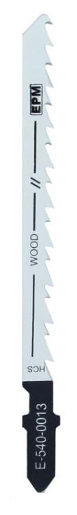 Brzeszczot do wyrzynarki 74mm 6tpi drewno t244d 5 sztuk