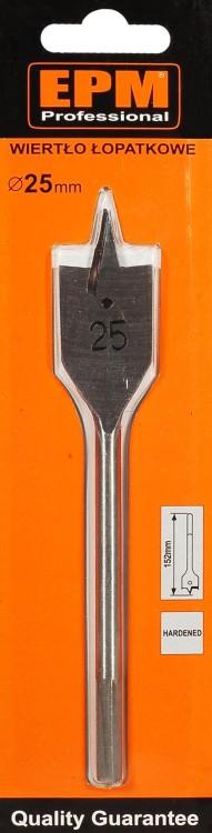 Wiertło łopatkowe do drewna 25/150mm