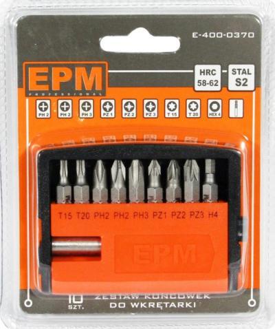Zestaw końcówek do wkrętarki 9szt + uchwyt magnetyczny
