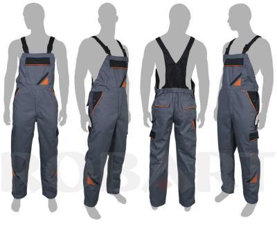 Spodnie ochronne ogrodniczki professional 58/186/108