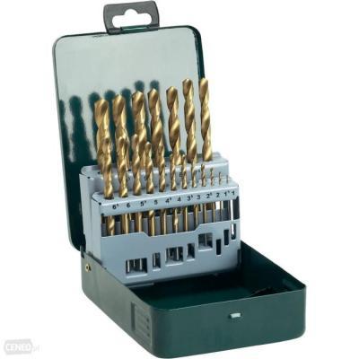 Zestaw wierteł do metalu hss-tin 19 szt. 1-10mm