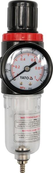 Reduktor z filtrem i manometrem 1/4