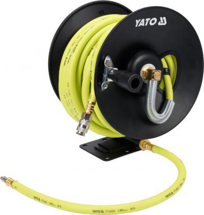 Przewód pneumatyczny hybrydowy na zwijaku 9.5mm 15m