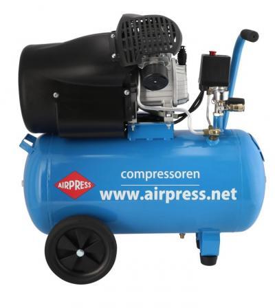 Kompresor olejowy 50l dwutłokowy typ v 50l hl 425-50 + kit