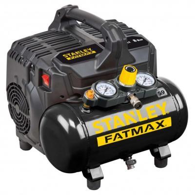 Kompresor bezolejowy 6l 8 bar wyciszony fatmax