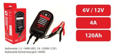 Prostownik inteligentny do ładowania smart charger 4