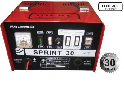 Prostownik samochodowy sprint 30