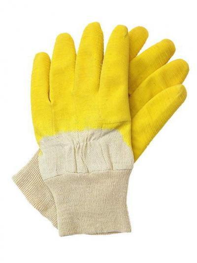 Rękawice robocze podgumowane ze ściągaczem 411, rgs, pp-022