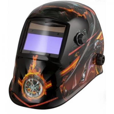 Przyłbica automatyczna aps-510g fire car