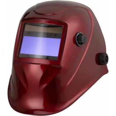 Przyłbica automatyczna aps-510g red