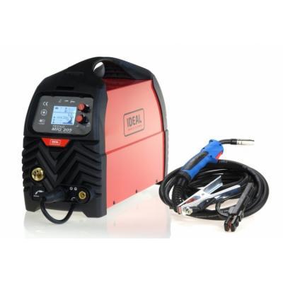 Półautomat spawalniczy tecnomig 205 lcd mig/tig/mma synergic