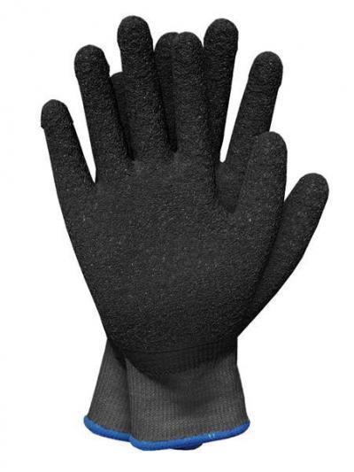 Rękawice dzianinowe powlekane gumą recodrag czarne