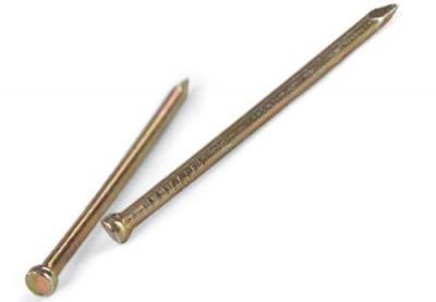 Gwoździe stolarskie zp 1.8*35mm op-5kg ocynkowane na żółto