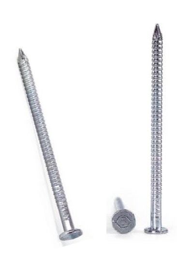 Gwoździe walcowane pierścieniowo ocynkowane 3.5*80mm