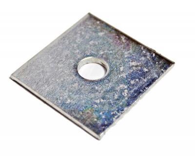 Podkładka kwadratowa czarna din 436 24mm