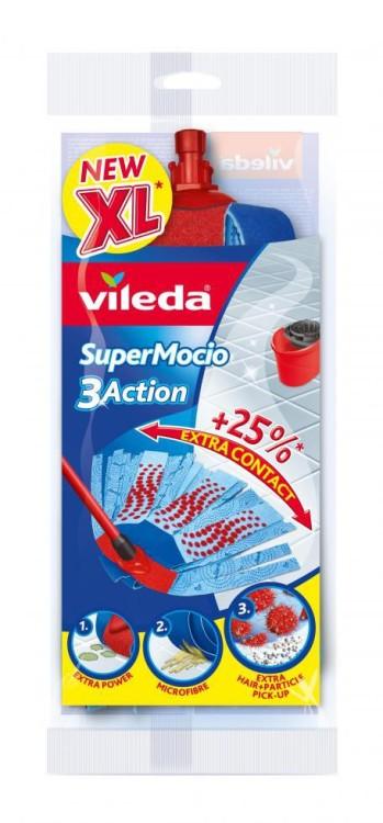 Vileda zapas do mopa supermocio 3action velour