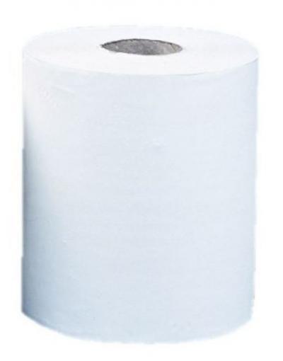 Ręcznik papierowy w rolce optimum maxi biały